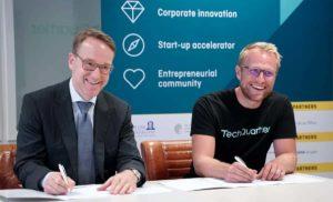 Deutsche Bundesbank wird erster institutioneller Partner vom TechQuartier.
