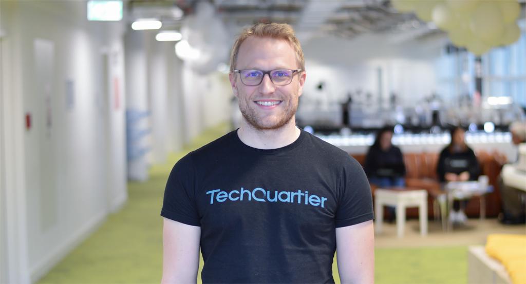 Der Techquartier-Gründer Thomas Funke.