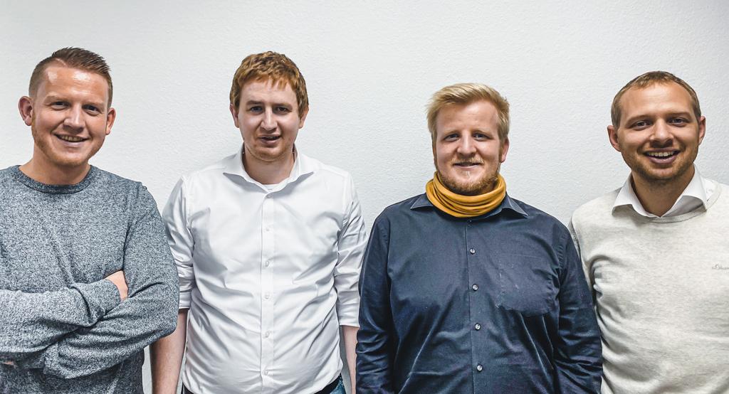 Das Gründerteam von Connfair.